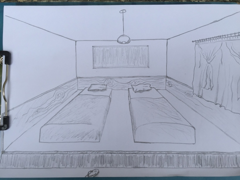 japanese tatami style bedroom
