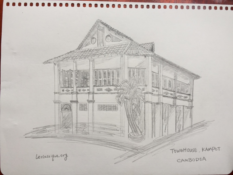 french colonial building